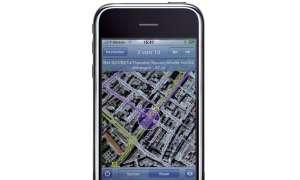 iPhone mit Google Maps