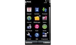 Hauptmenü Nokia 5800 XpressMusic