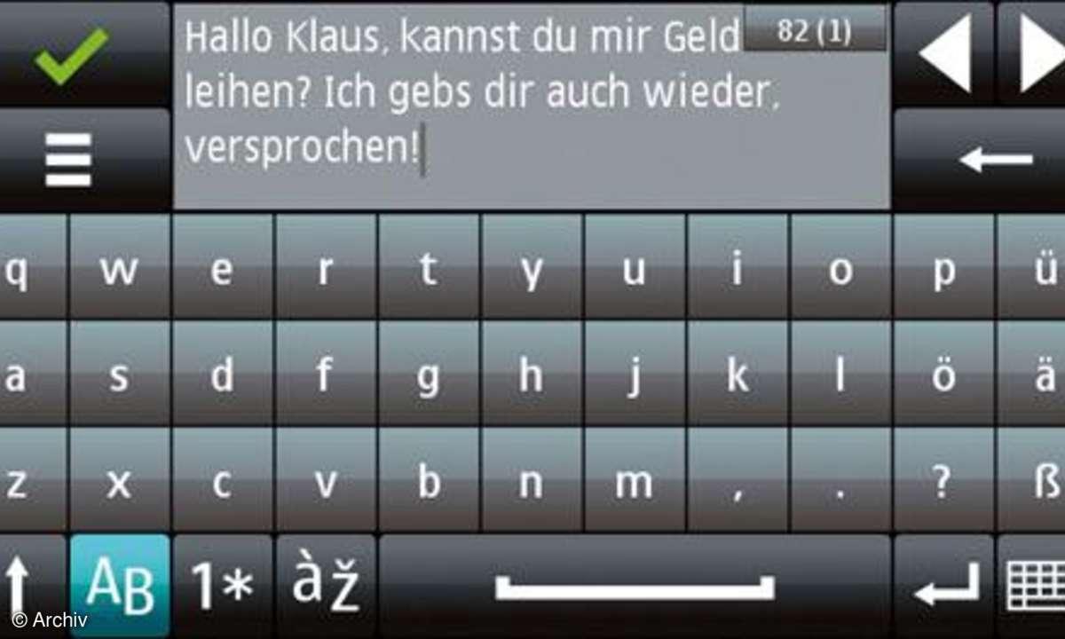 Display Nokia 5800 XpressMusic