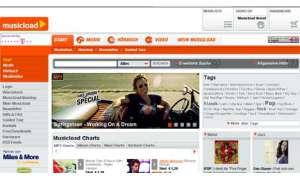 Musikshops im Internet