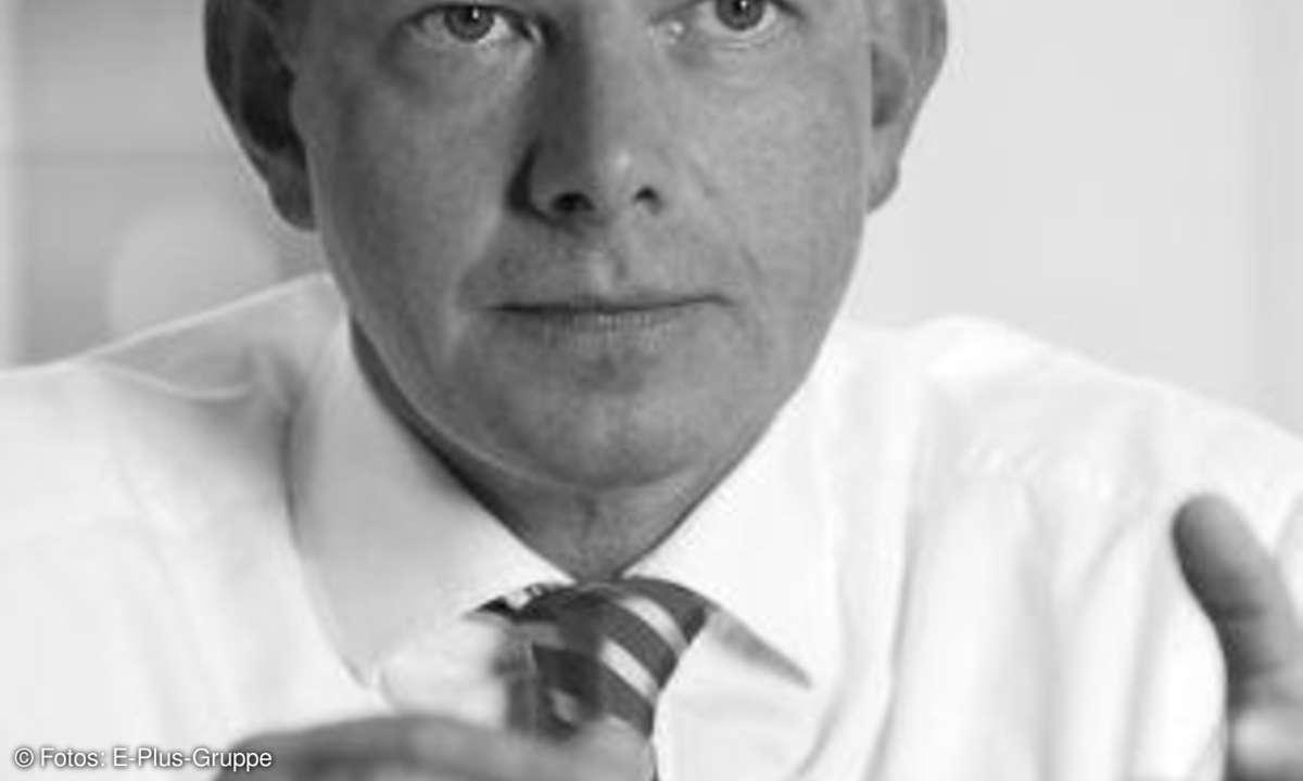 Thorsten Dirks, CEO der E-Plus-Gruppe