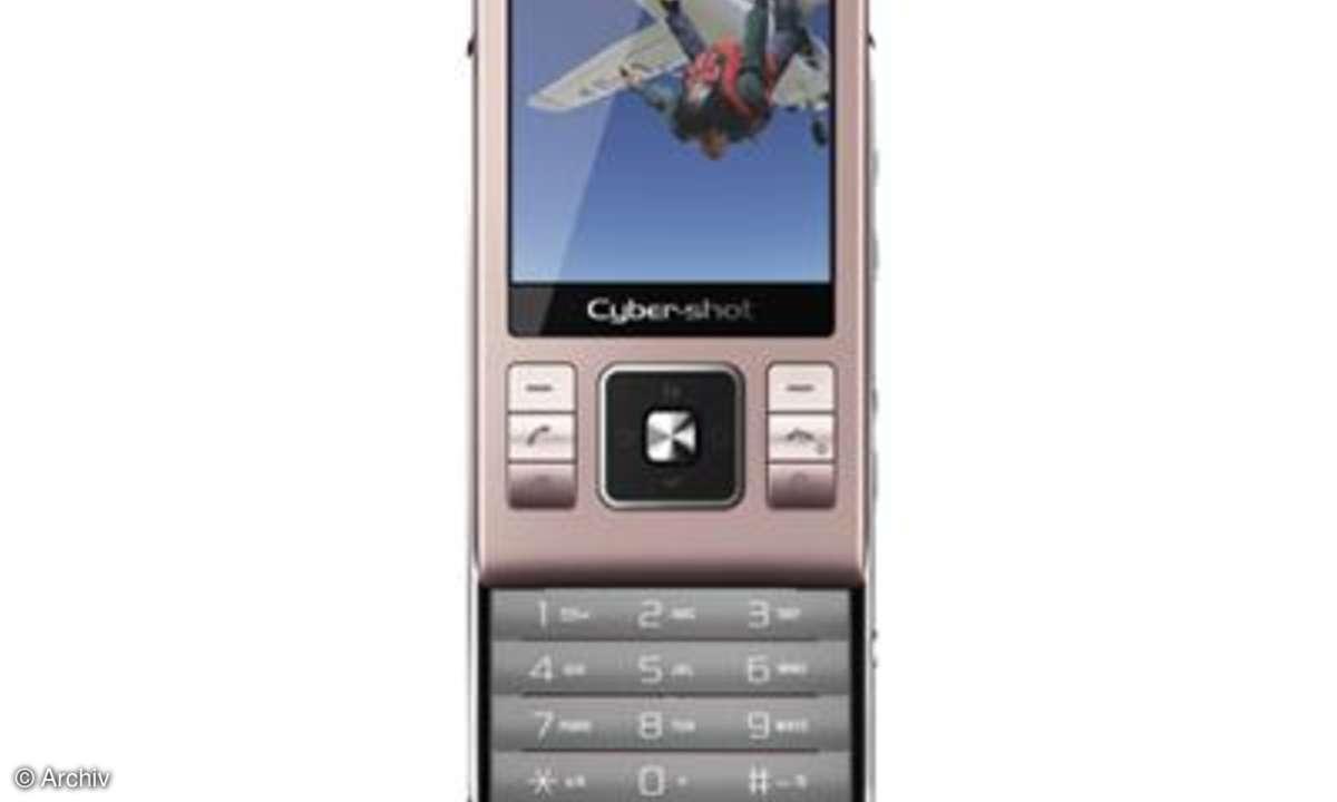 Dauertest Sony Ericsson C905