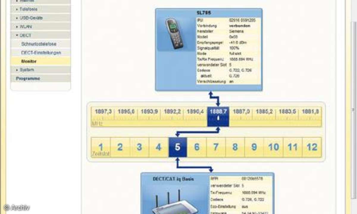 Screenshot FritzBox 7270