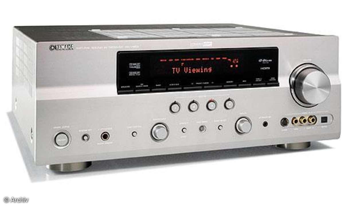 AV-Receiver Yamaha RX V 863