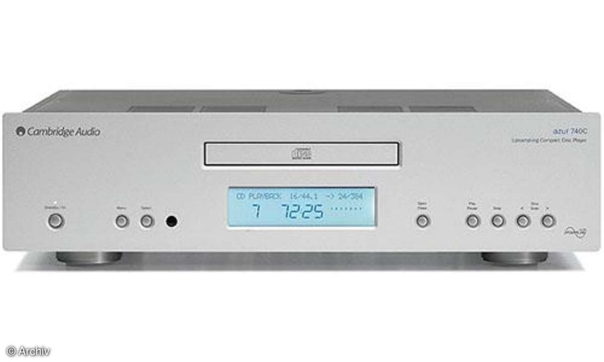 CD-Player Cambridge Azur 740 C