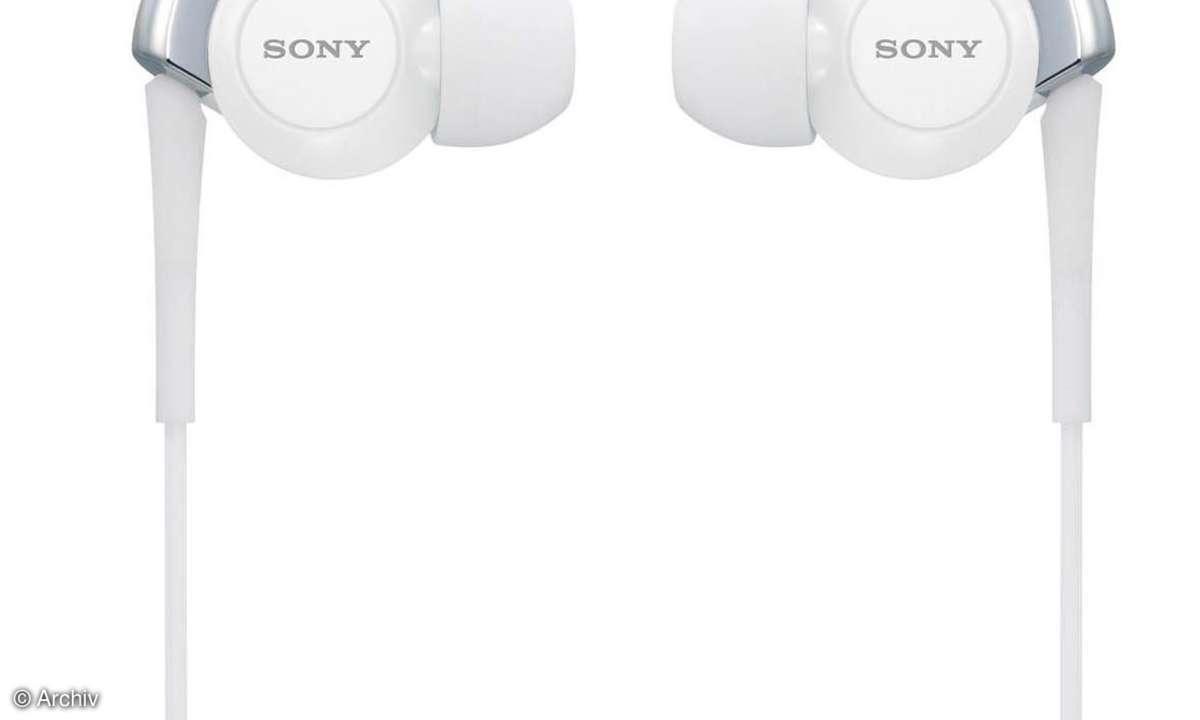 Kopfhörer Sony MDR EX 300 SL