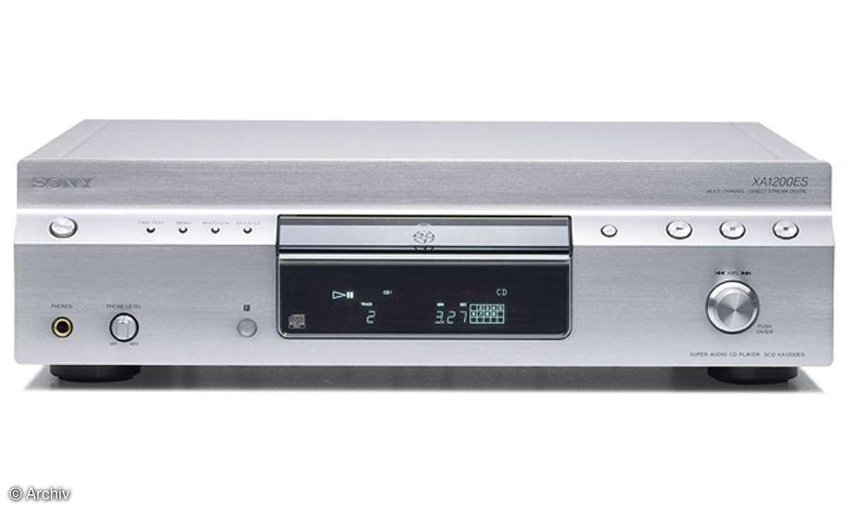 SACD-Player Sony SCD XA 1200 ES
