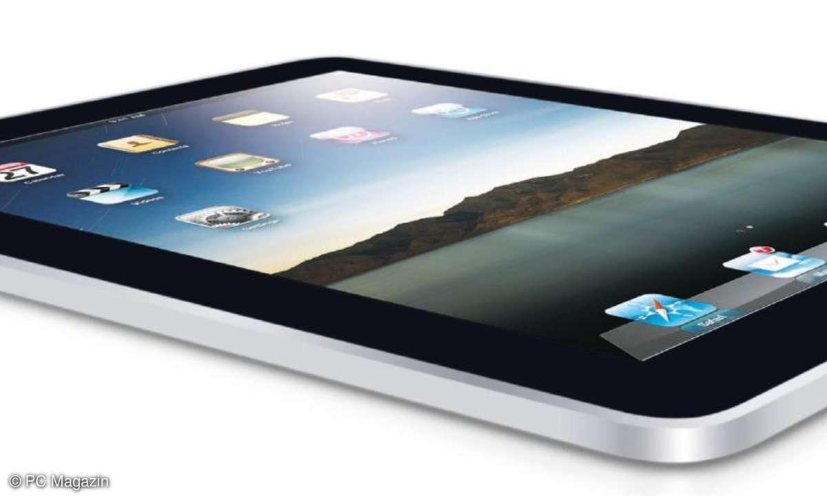 Geschlossenes System: Auf das iPad kommt nur das, was Steve Jobs und Apple gefällt. Flash fand keine Gnade.