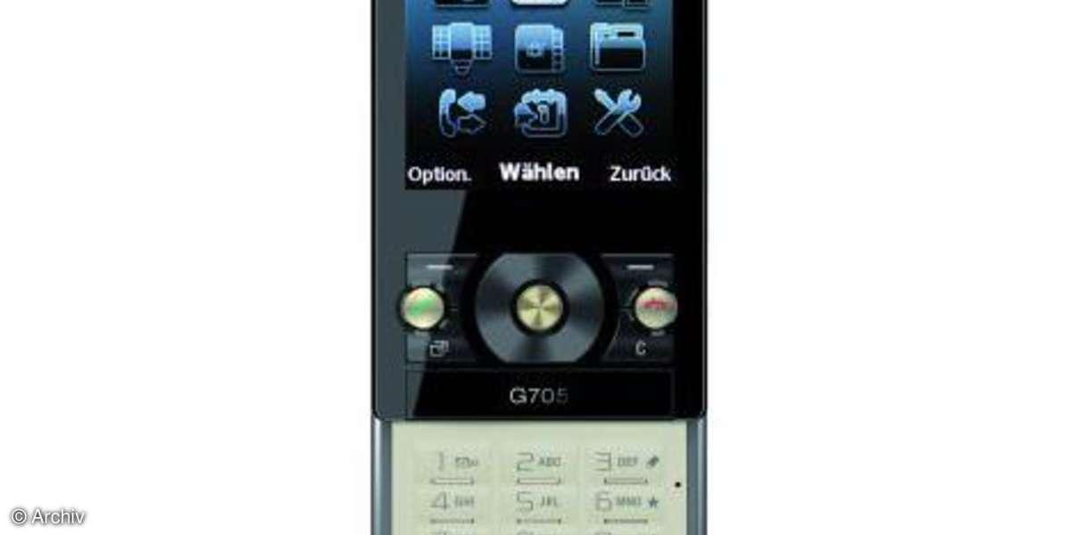 Testbericht Sony Ericsson G705