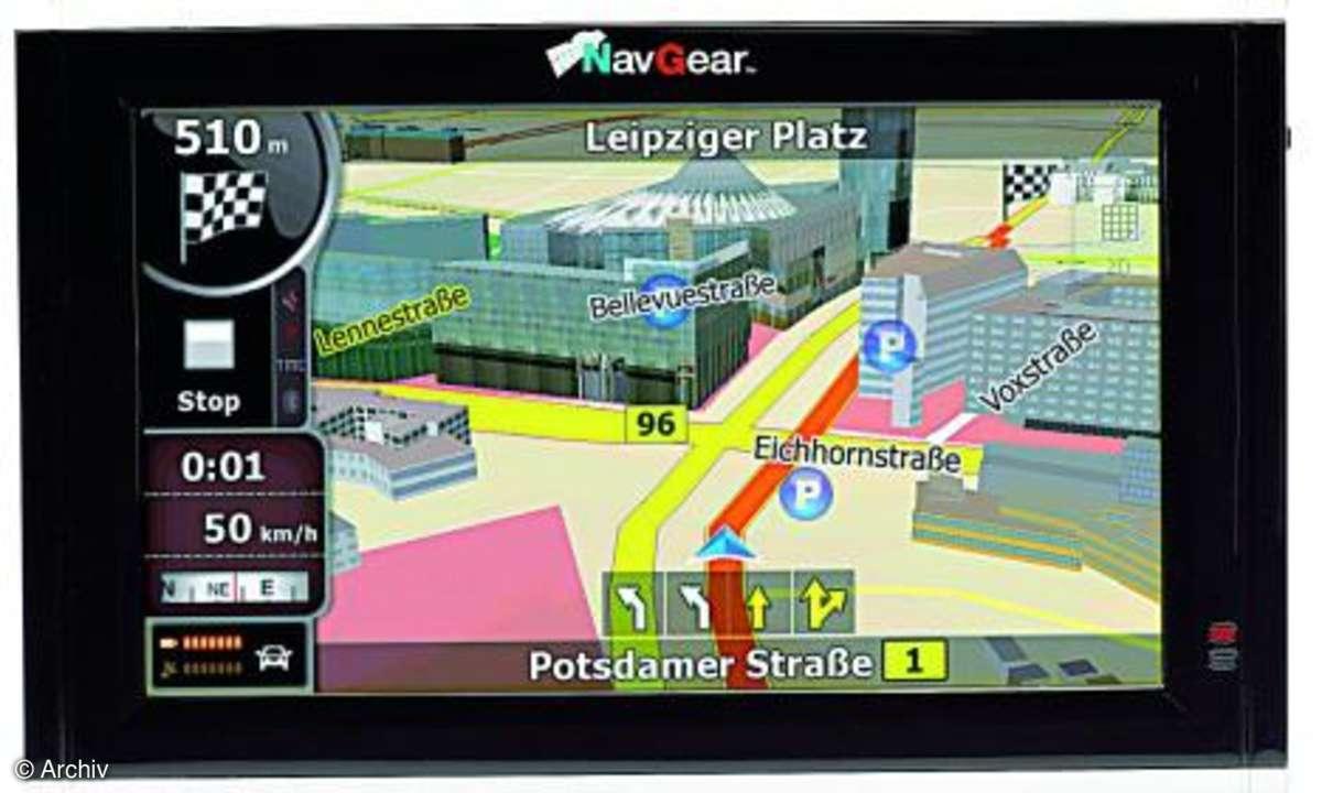 Testbericht Navgear Streetmate GT-43-3D DACH