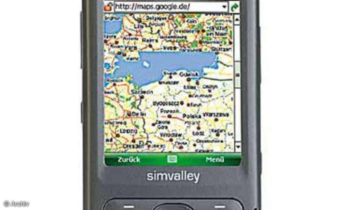 Simvalley Mobile XP-65