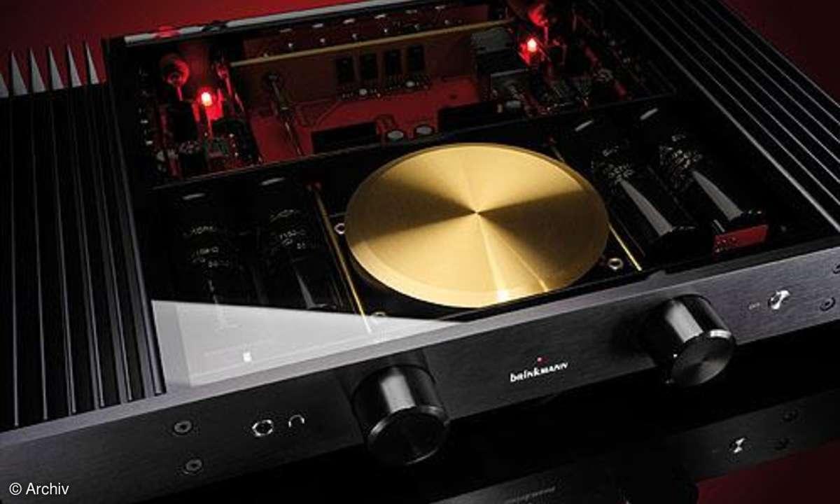 Vergleichstest Vollverstärker Brinkmann Der Vollverstärker, Marantz PM 11 S 2, Musical Fidelity A 1008, Symphonic Line RG 9 Mk 4 2009
