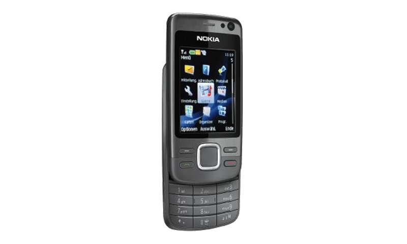 Nokia 6600i slide im Test