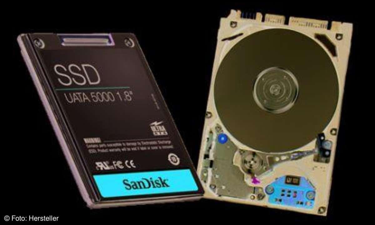 SSD vs Harddisk Kaufberatung Netbooks connect
