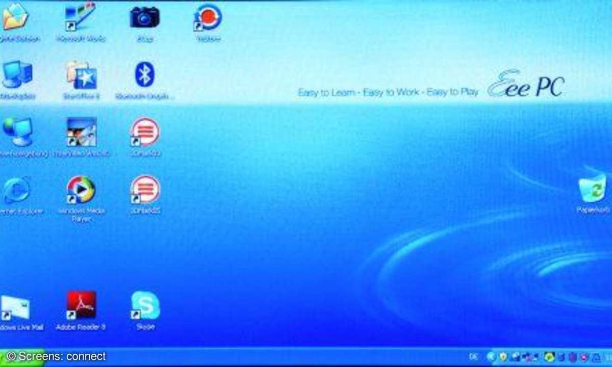 connect Kaufberatung Netbooks Asus EeePC Windows XP