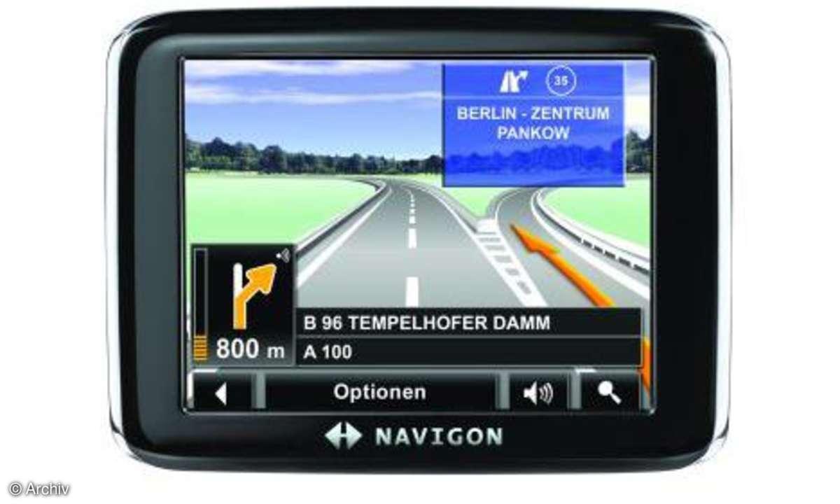 Testbericht Navigon 2210