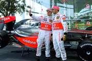 Vodafone Formel 1-Stars