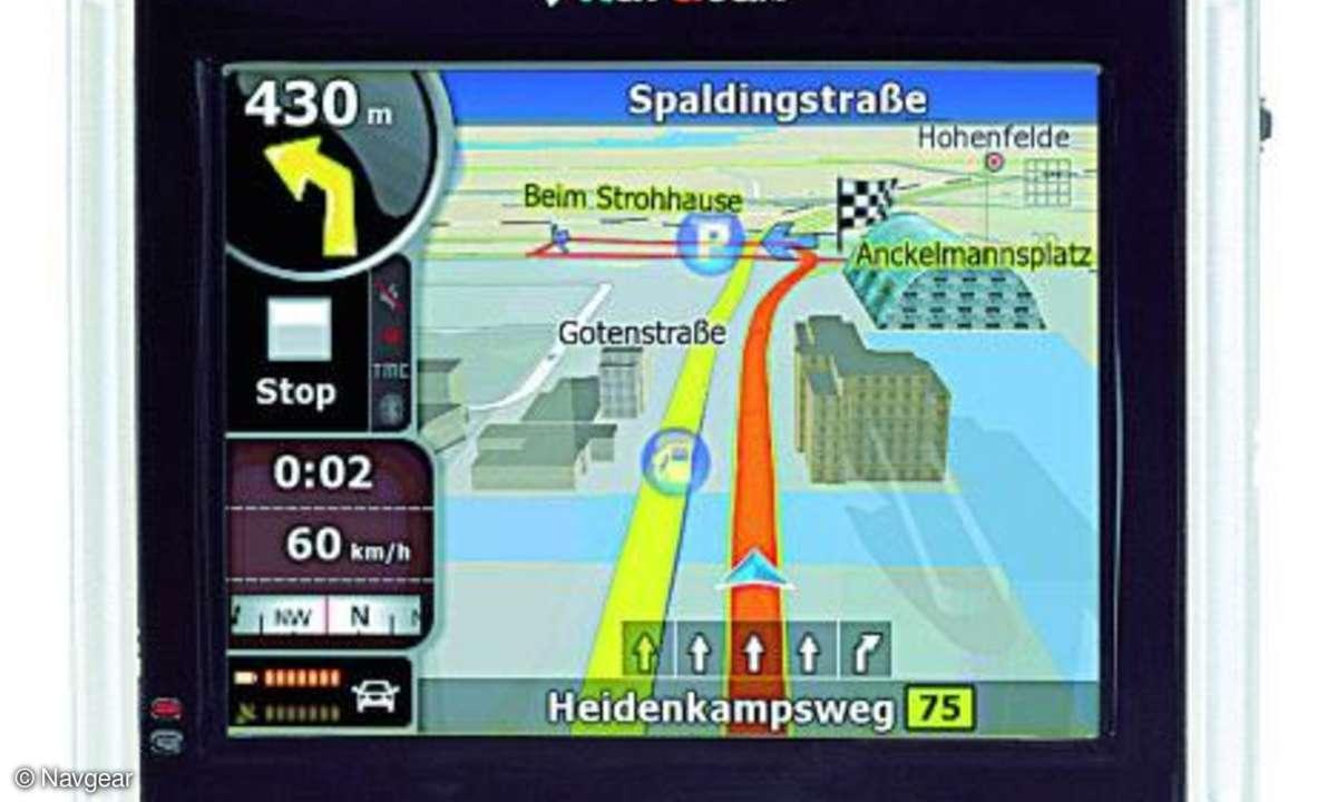 Testbericht Navgear Streetmate GT-35-3D D