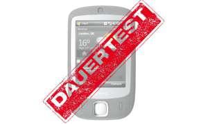 Dauertest HTC Touch Dual
