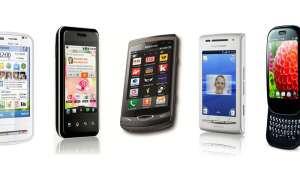 Smartphones für schmale Geldbeutel.