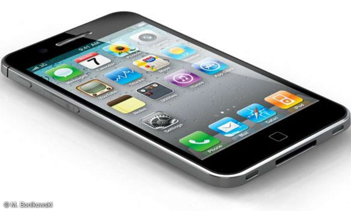 iPhone 5 Konzept von Michal Bonikowski