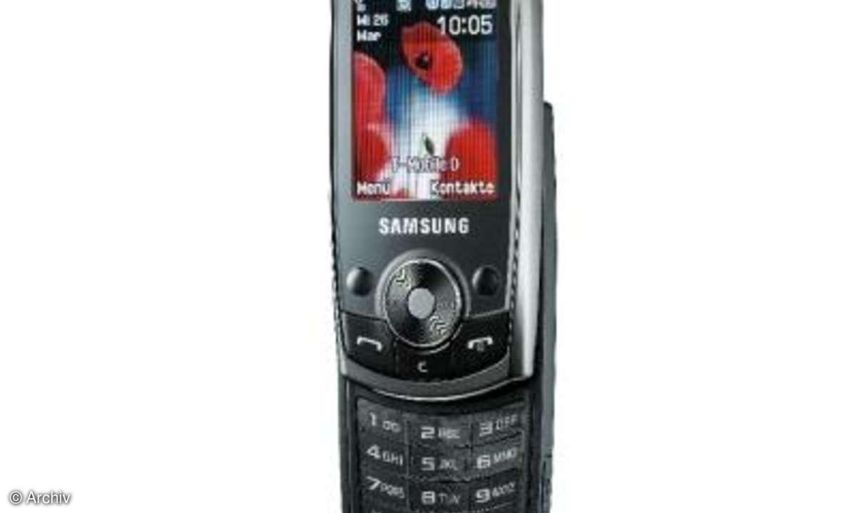 Testbericht Samsung SGH-J700