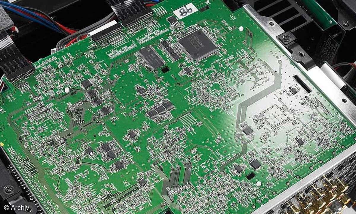 Yamaha DSP Z 11 Haupt-Videoplatine