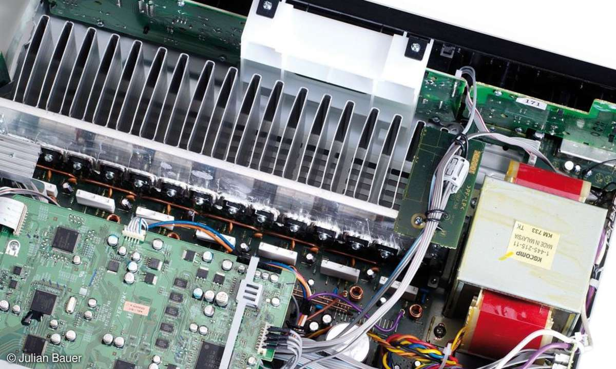 Surround-Receiver Sony STR DG 910 Innenleben