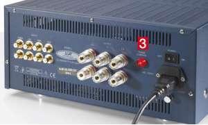 Vollverstärker Lua 4545 L