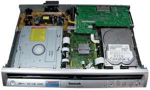 Panasonic DMR EX 80 S (Innenansicht)