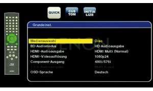 Blu-ray-Player Denon DBP 2010