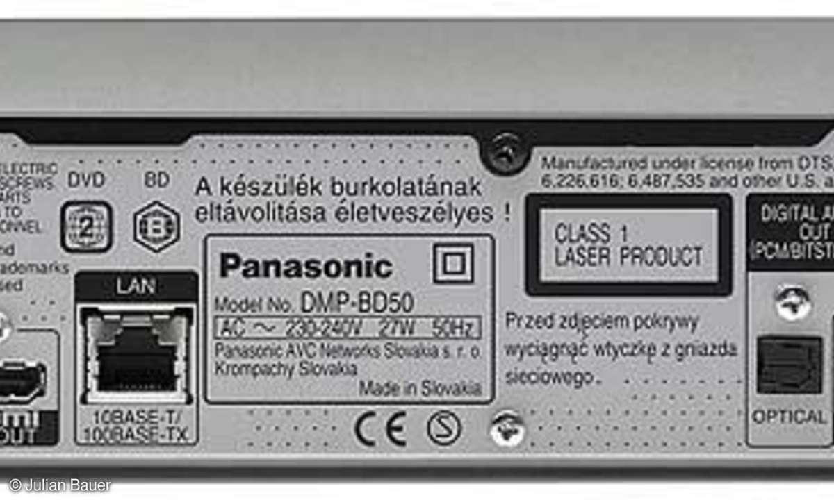 Blue-ray-Player Panasonic DMP BD 50