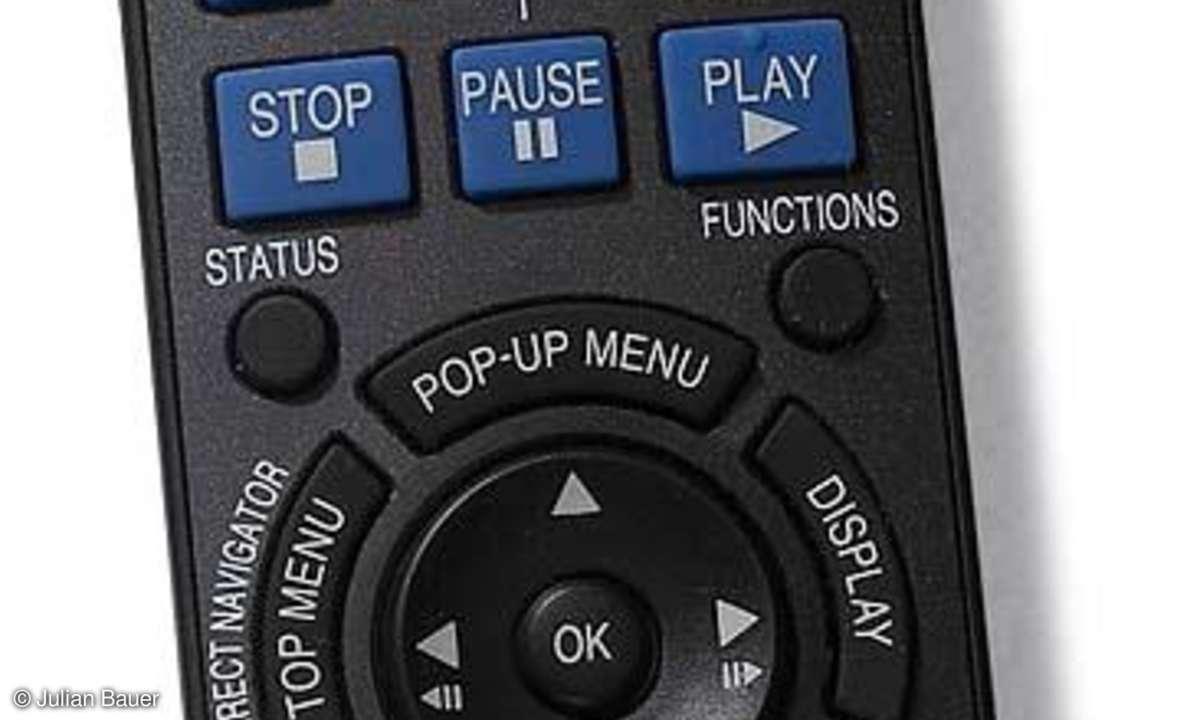 Blue-ray-Player Panasonic DMP BD 50 Fernbedienung