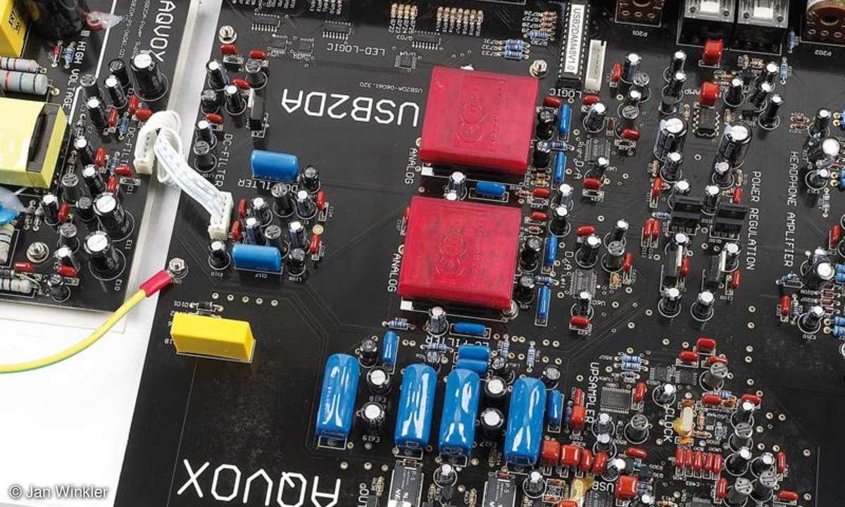 Digital/Analog-Wandler Aqvox USB 2 D/A