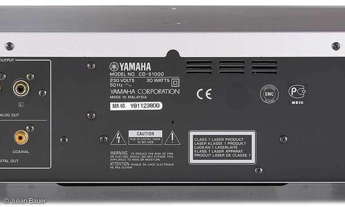 CD/SACD-Spieler Yamaha CD S 1000