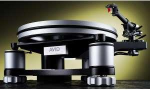 Der Plattenspieler Avid Volvere Sequel mit dem Tonarm SME 309