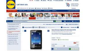 Lidl Aktion, Sony Ericsson Xperia X10 Mini