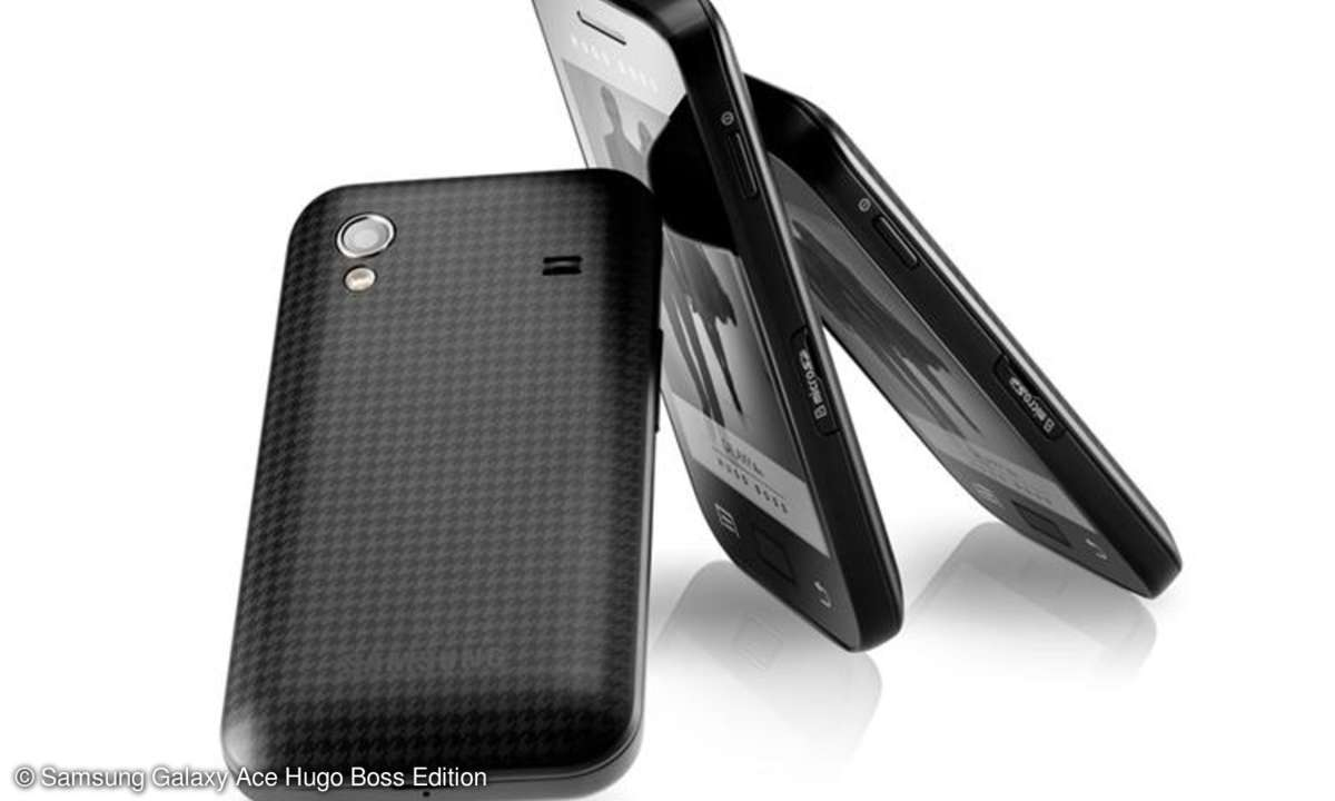 Samsung Galaxy Ace Hugo Boss Edition