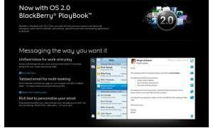 Ab sofort zu bekommen: Blackberry Playbook 2.0