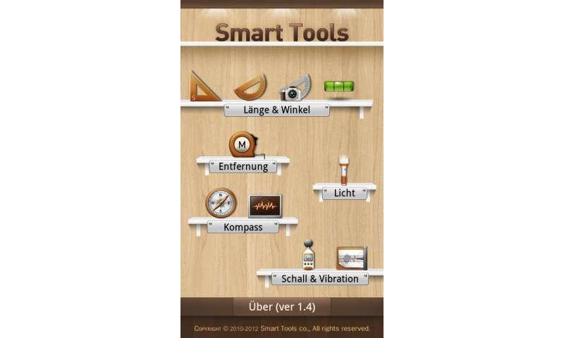 app des tages smart tools connect. Black Bedroom Furniture Sets. Home Design Ideas