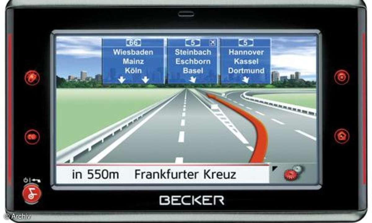 Becker Traffic Assist 7928