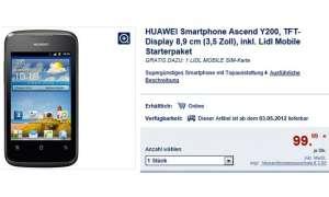 Lidl Angebot, Huawei Ascend Y200