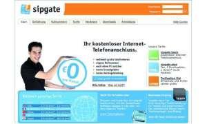 Sipgate Homepage