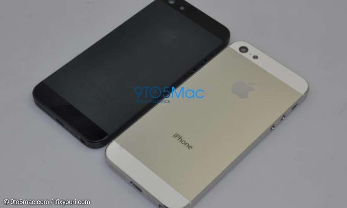 iPhone 5 - neues Design