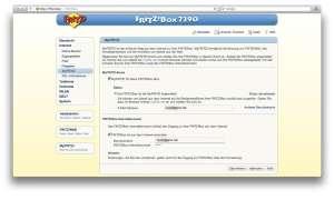 Registrierung für MyFritz