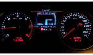 Audi A8 MMI Tacho