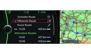BMW 7er Routenauswahl