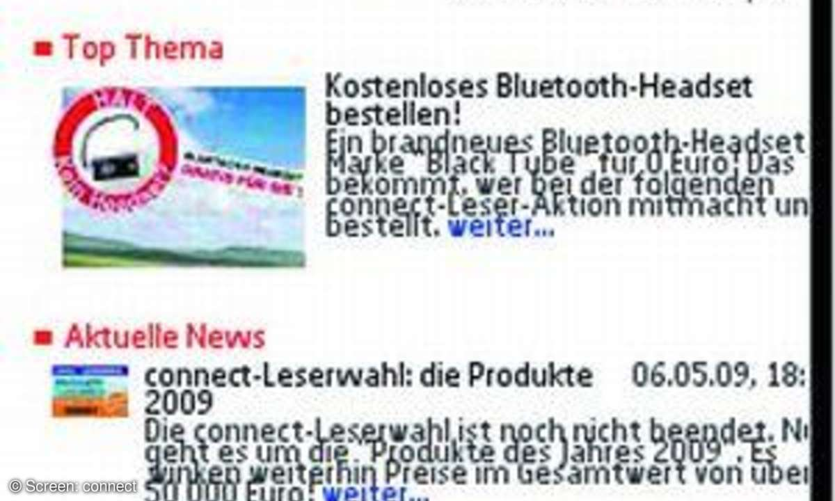 Screen Nokia N85