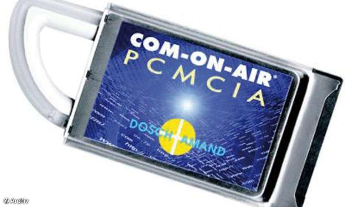 Lauschangriff DECT Com-on-air-III-Karte