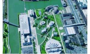 Schrägbild Autostadt Wolfsburg Blom ASA